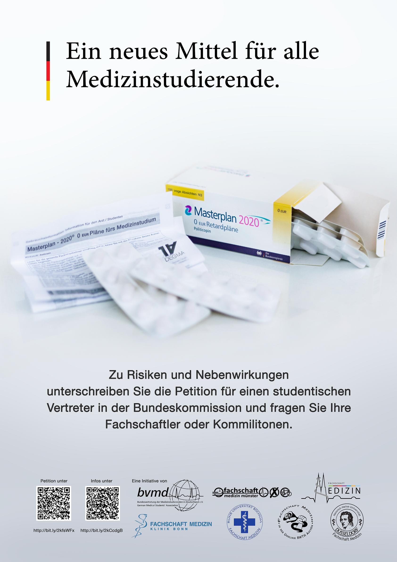 Petition der bvmd: Mitbestimmung bei der Reform des Studiums!